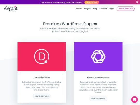Elegant Themes Plugins