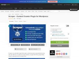 Scraper: Content Crawler